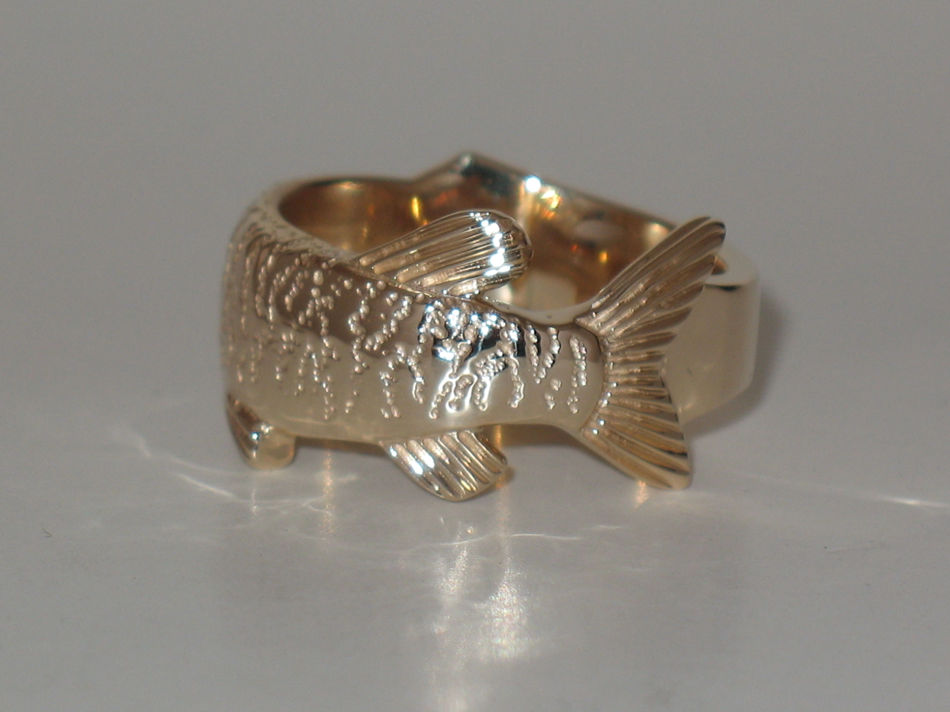 Back of Muskie Ring