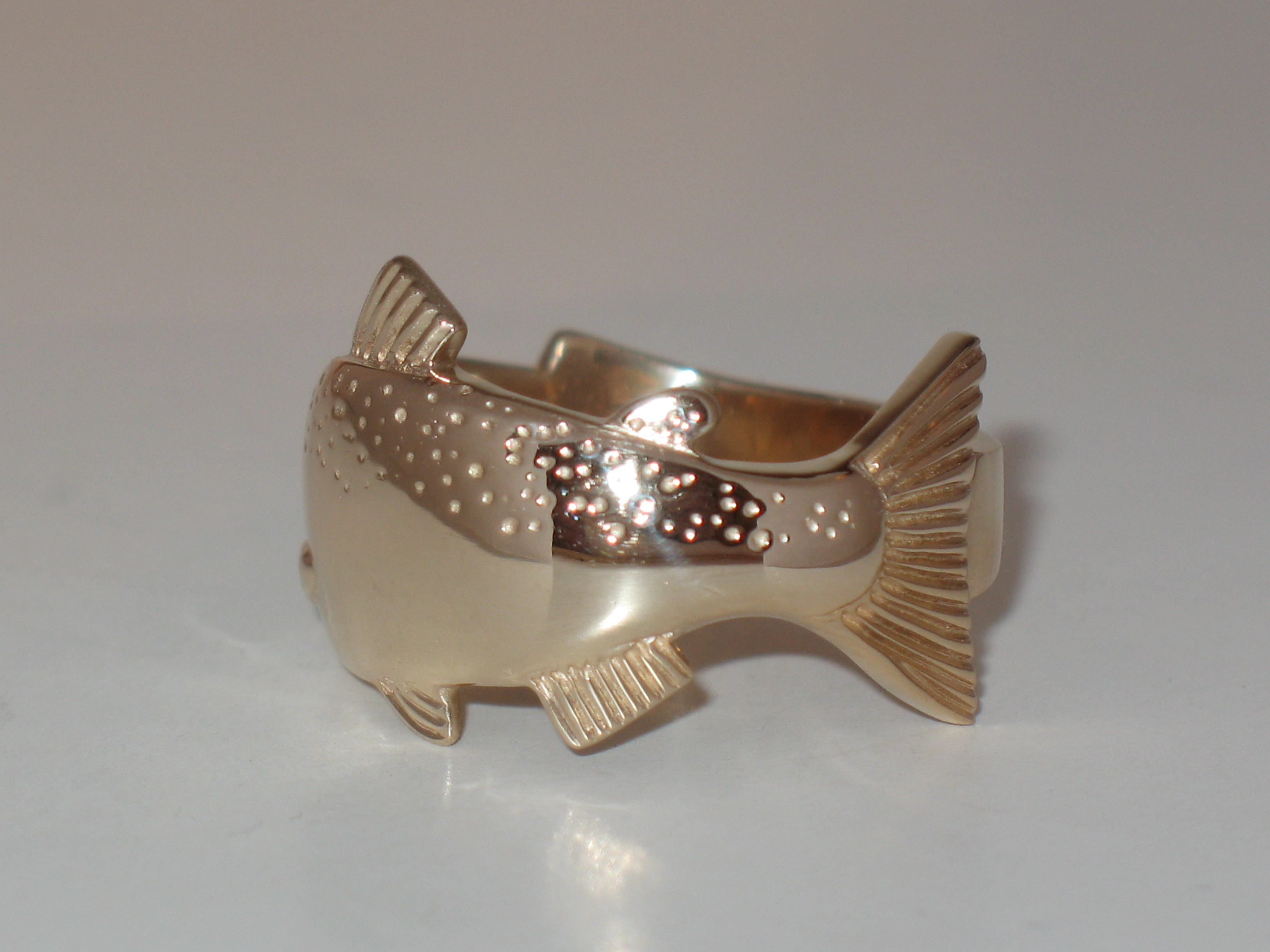 Back of Chinook Salmon Ring