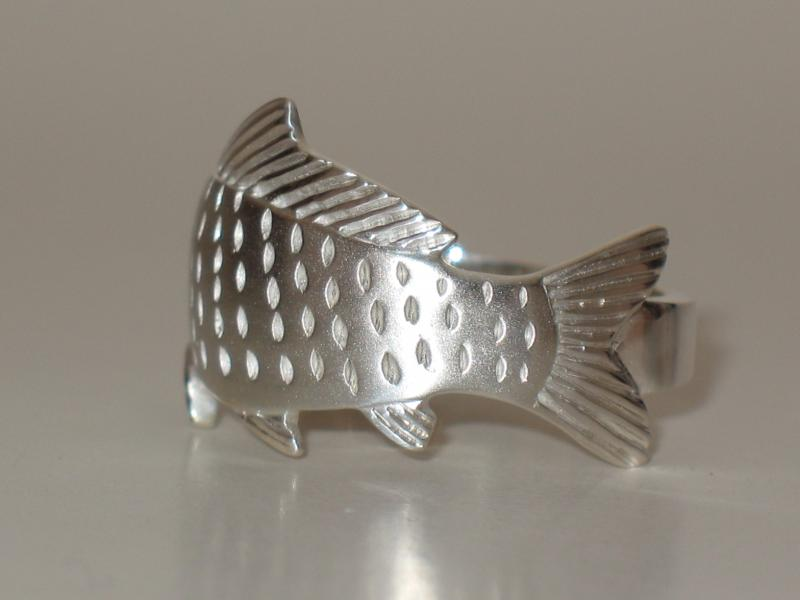 Back of carp ring