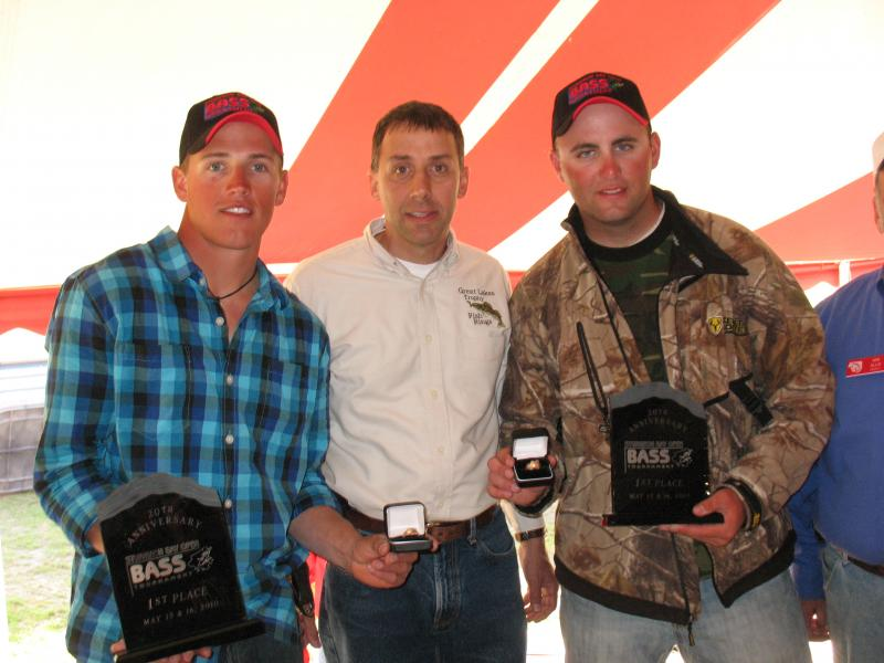 20th Annual Sturgeon Bay Open Bass Tournament Winners